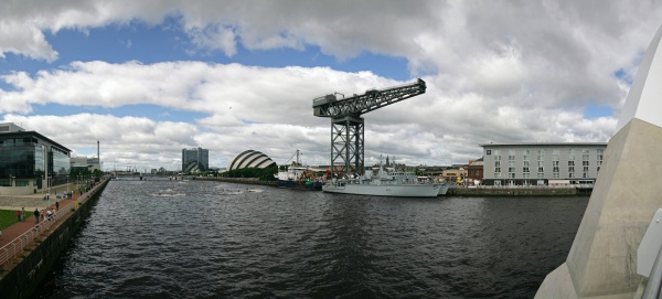 Glasgow River Panorama - Glasgow Gallery