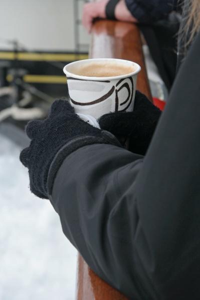 Coffee at Sea - PS Waverley