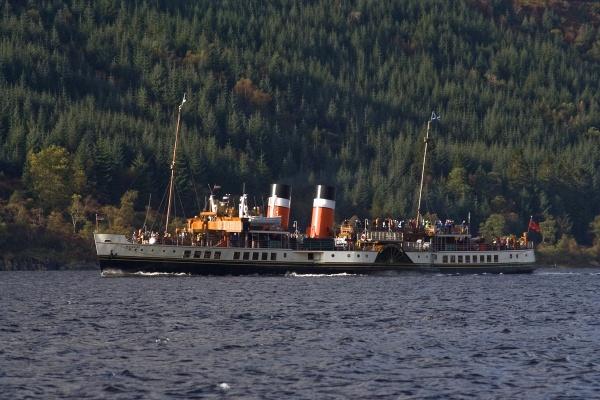 Loch Long cruise - PS Waverley