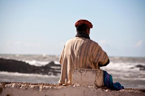 The Watcher, Essaouira (7159) - Morocco