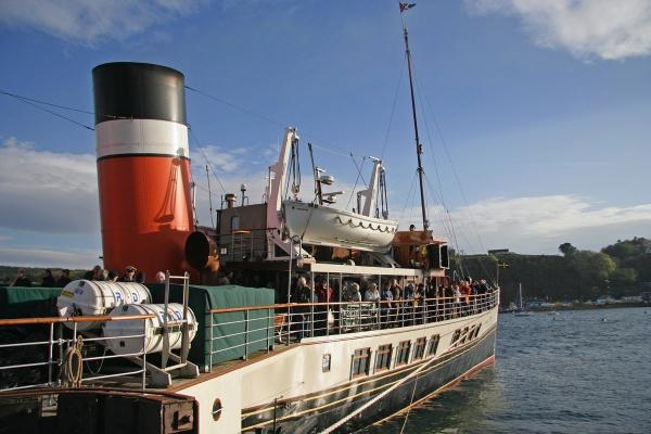 Tobermory Berth - PS Waverley
