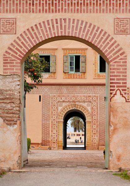 Archway, The Menara Pavillion (7027) - Morocco