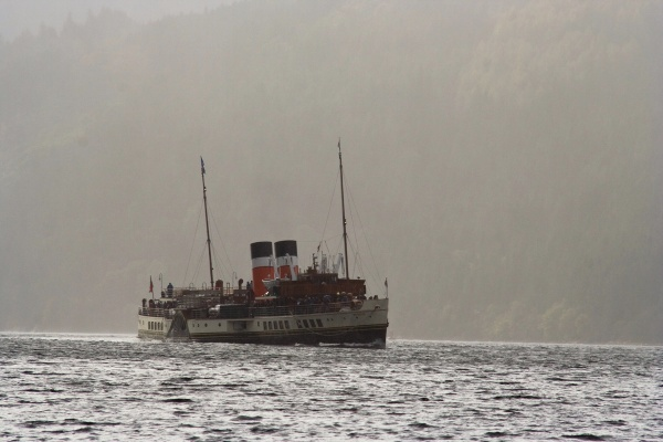 Out of the Storm - PS Waverley
