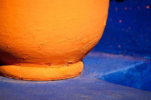 Orange & Blue (6364) - Morocco