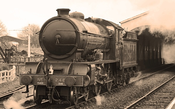 Monochromatic Morayshire - The Golden Age of Steam