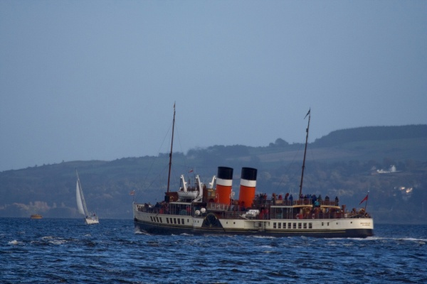 Sailing By - PS Waverley
