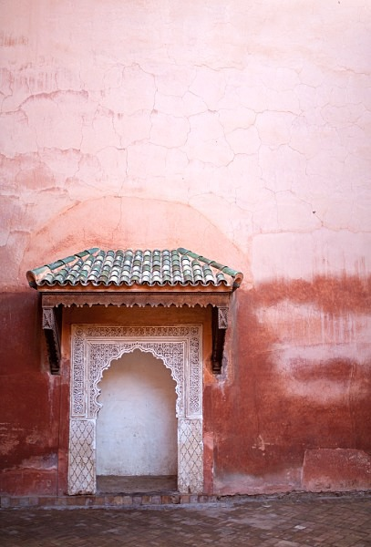 Saadian Tombs, Marrakech - Card Sales