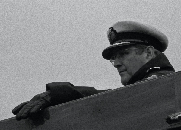 Captain On The Bridge - PS Waverley