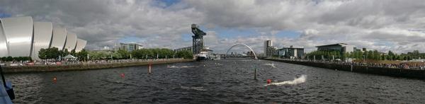 Bells Bridge Panorama - Glasgow Gallery