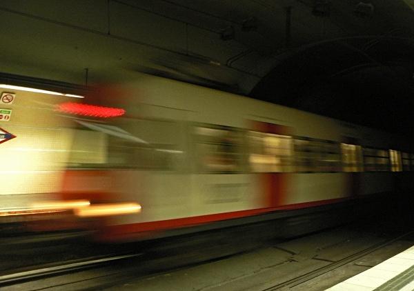 Underground train, Barcelona - The Mediterranean and Europe