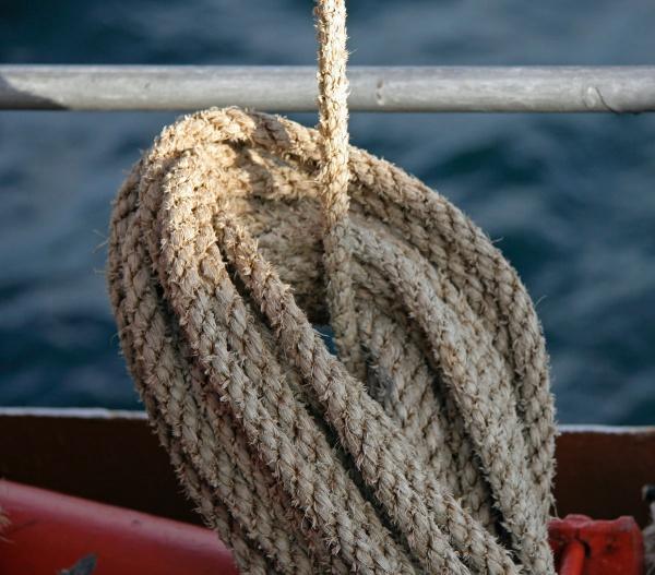 Rope Detail - PS Waverley