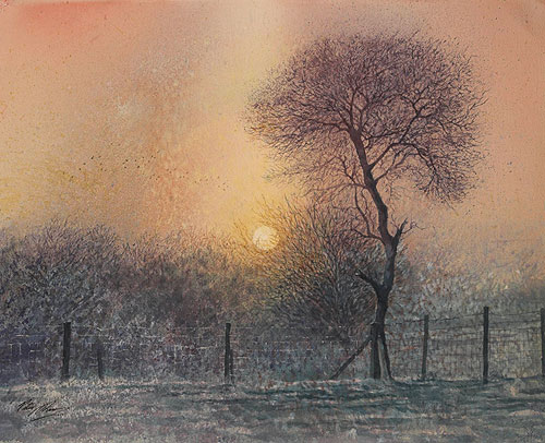 Winter Dawn - Atmosphere and Light
