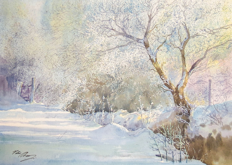 'Hoar Frost' - Verses of Winter