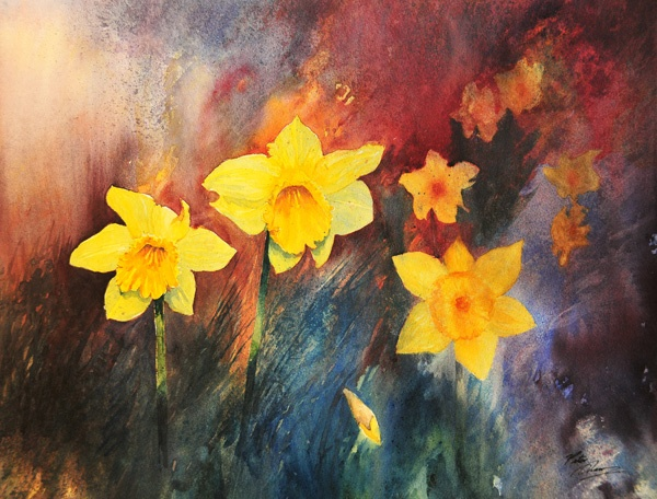 'Daffodils' - Atmosphere and Light