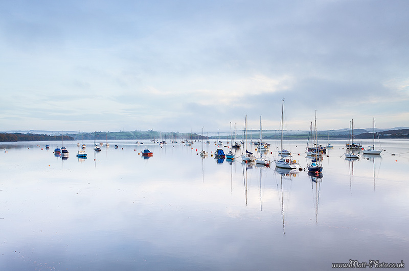 River Tamar - Cornwall - Towns and Countryside