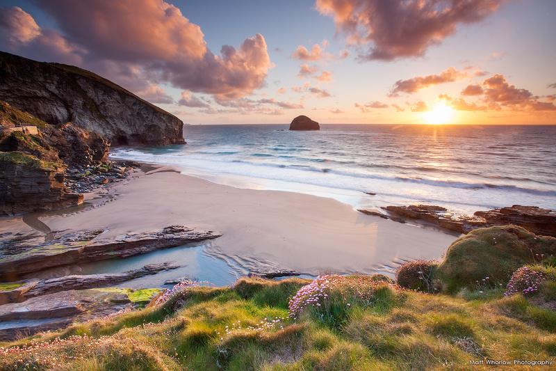 Trebarwith Strand - Cornwall - North Coast 1