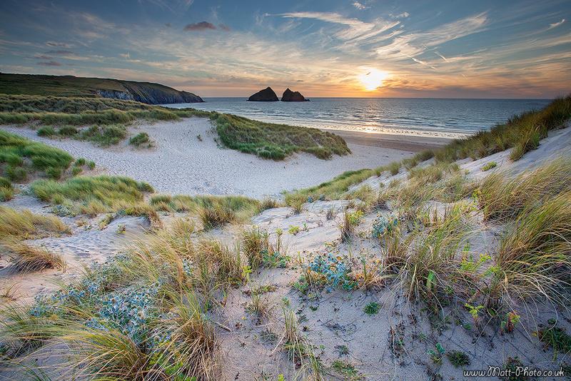 Holywell Beach - Cornish Beaches