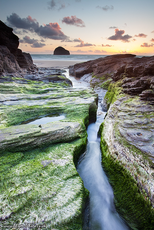 Trebarwith Strand - Cornwall - North Coast 1