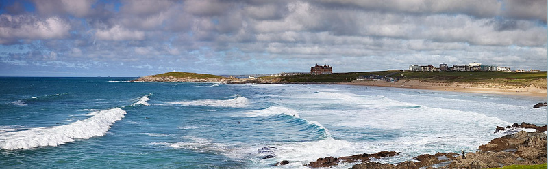 Fistral Beach - Panoramic