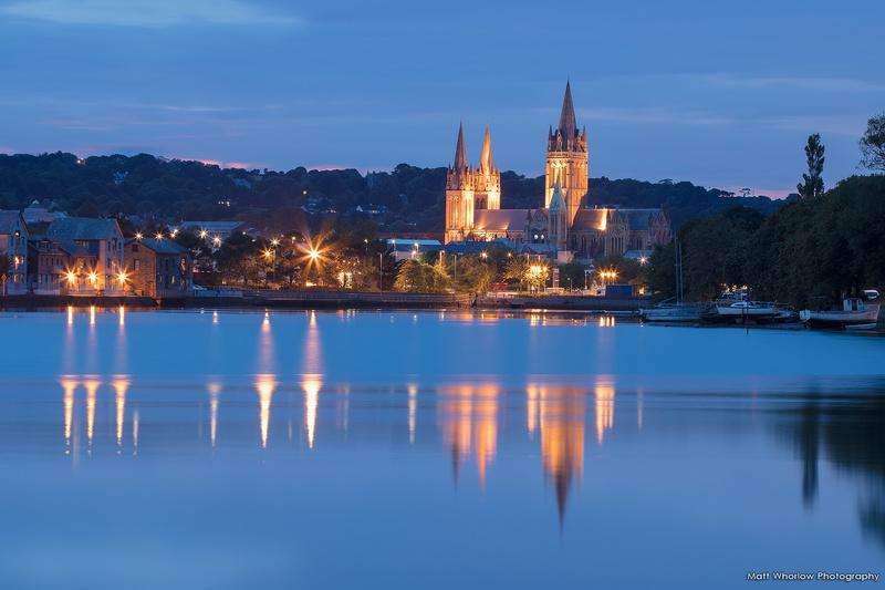 Truro Cathedral - Cornish Towns