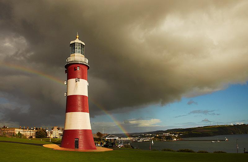 Plymouth Hoe Rainbow - South Devon