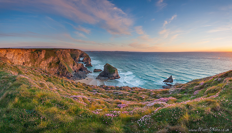Bedruthan Steps - Panoramic