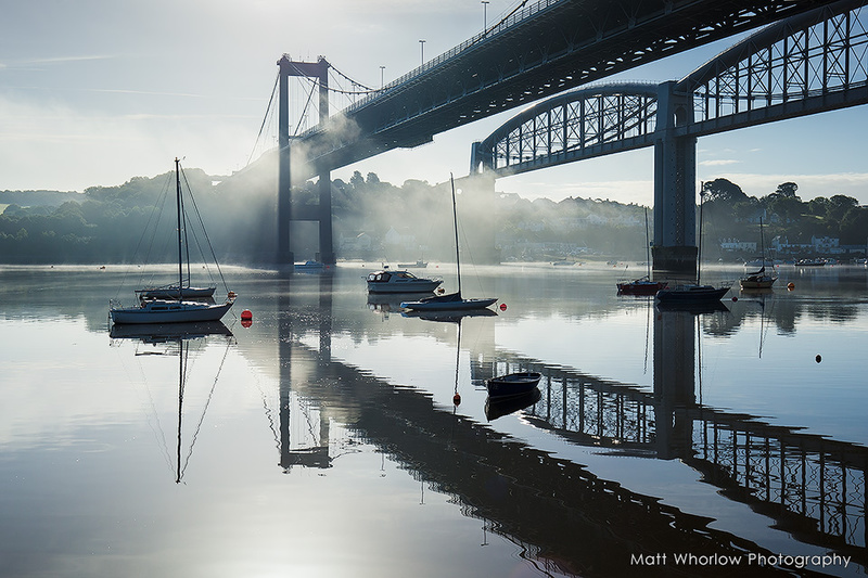 Tamar Bridge - Cornwall - Towns and Countryside