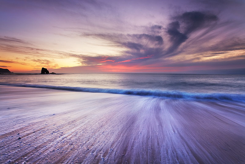 Brushstrokes on the Beach - South Devon