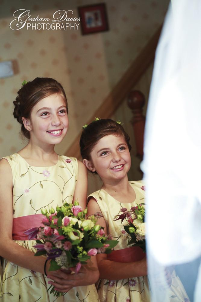 Bridesmaids wedding at St. Hilary - Wedding Photography at St. Hilary