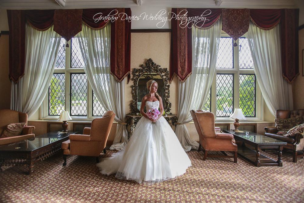 Miskin Manor Bride Photo Shoot - Wedding Photography at Miskin Manor