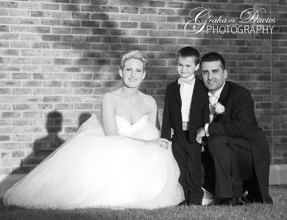 Bride & Groom at De Courceys, Cardiff - Wedding Photography at De Courceys, Cardiff
