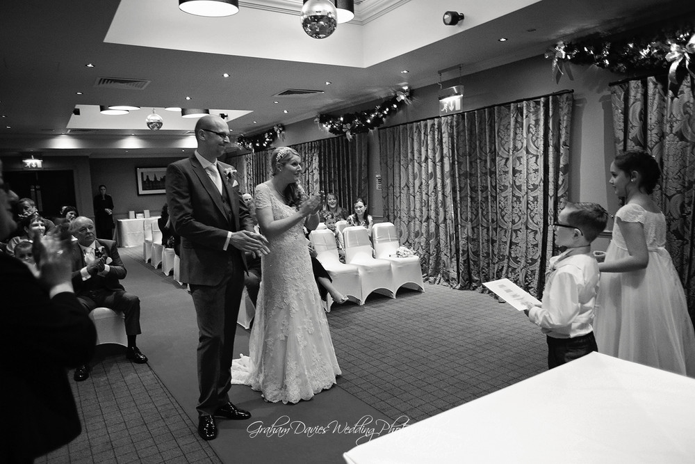 - Wedding Photography at Village Hotel, Cardiff