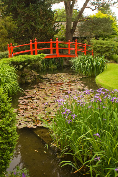 The Bridge Of Life. Japanese Gardens, Co. Kildare, Ireland
