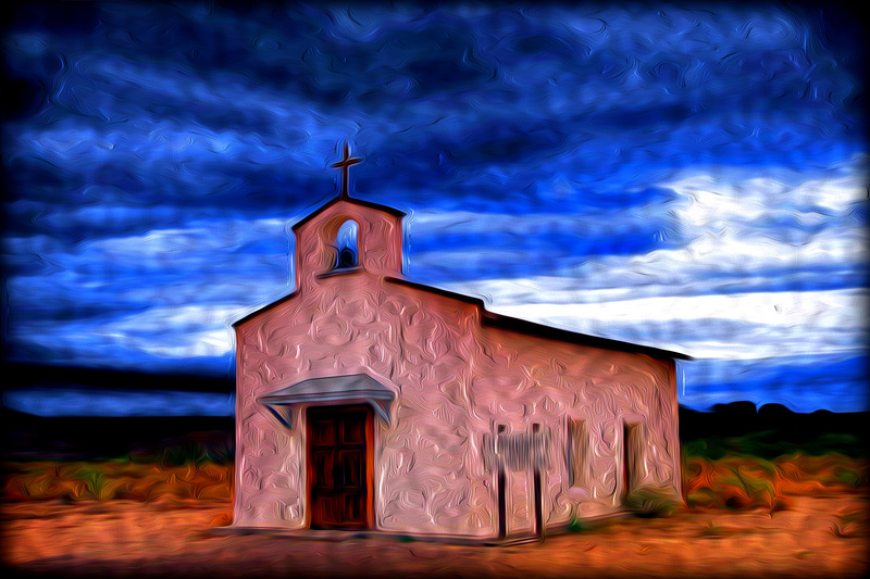 Mission Santa Maria Calera - Photo Art