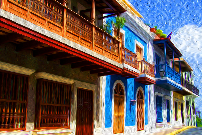 Old San Juan - Photo Art