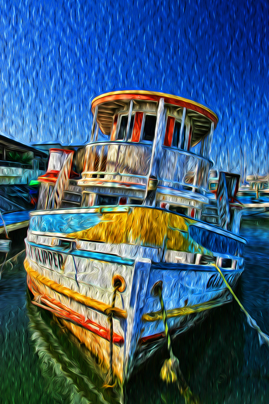 The Gulf Clipper - Photo Art