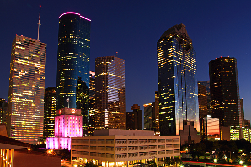 Houston Skyline - Texas