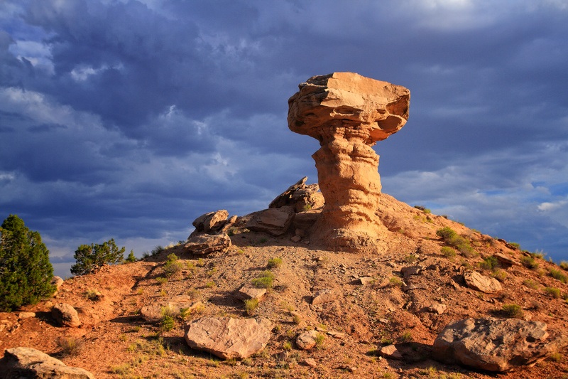 Camel Rock - New Mexico