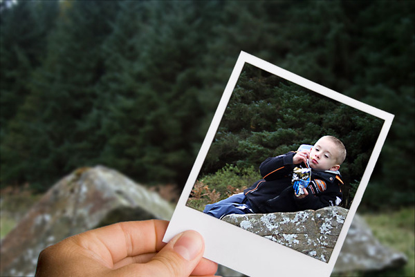 picture in a picture ( my son) - Photoshop Work