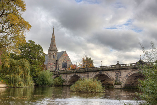 English Bridge - A Walk Around Shrewsbury