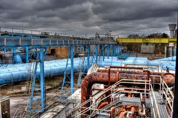 pyestock National Gas Turbine Establishment urbex urban exploration NGTE Pyestock fleet rae