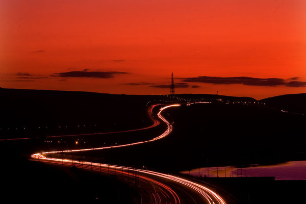 m62 at night - miscellaneous