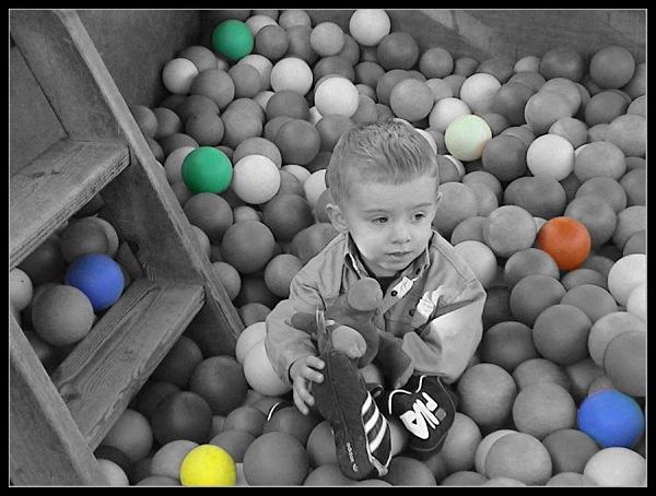 ball pit - Photoshop Work