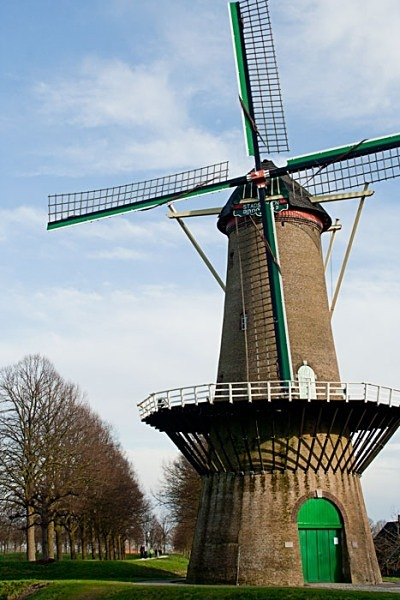 holland wind mill hulst holland