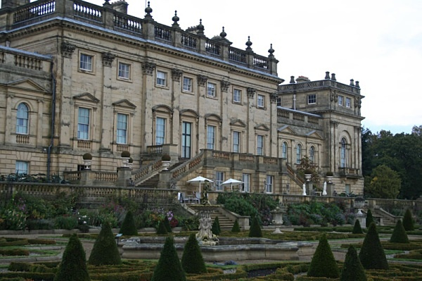 harewood house by day - Photoshop Work