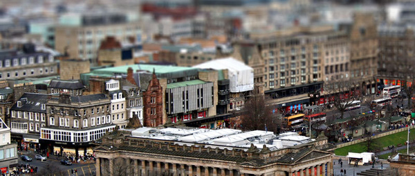 edinburgh - Photoshop Work