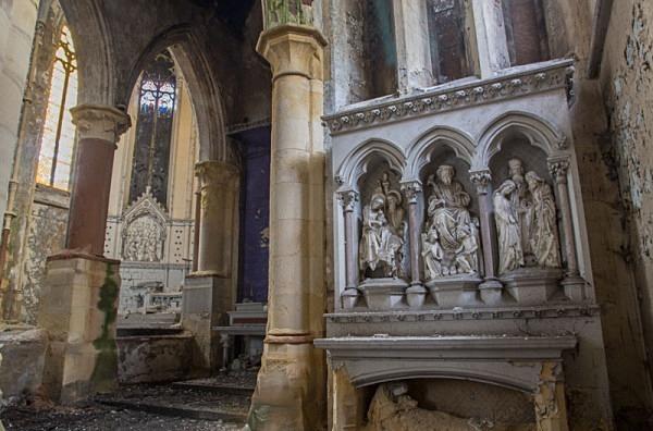 Mount St Mary's Church Leeds urbex urban exploration derelict church mount st mary's Church of the Immaculate Virgin Mary joseph hansom Gothic Revival