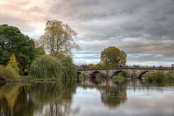 English Bridge Shrewsbury - Landscapes