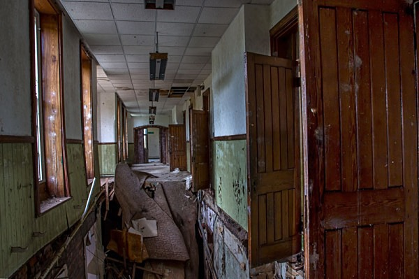 Talgarth Asylum Wales hospital urban exploration urbex