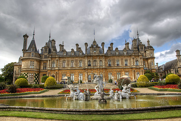 Waddesdon Manor Aylesbury Vale Baron Ferdinand de Rothschild James de Rothschild  National Trust waddeston manor rothschild